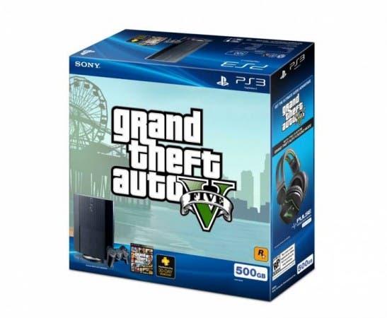 Pack de PlayStation 3 con Grand Theft Auto V y unos cascos exclusivos