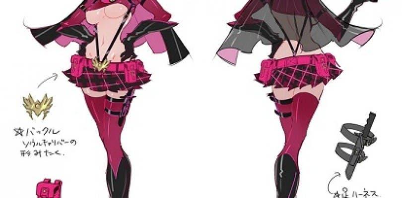 La diseñadora de personajes como Bayonetta crea un traje para Soulcalibur: Lost Swords