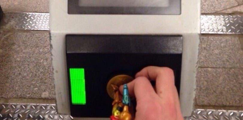 Desgraciadamente, el Amiibo de Samus no te abrirá las puertas del metro