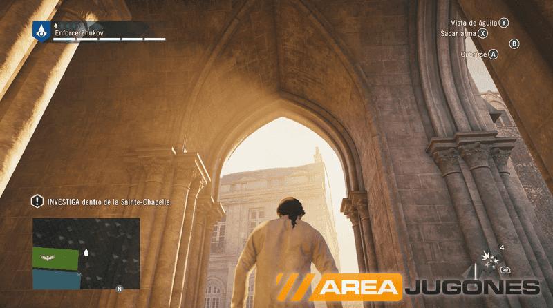 La luminaria de Unity es uno de los efectos gráficos más positivos del juego.