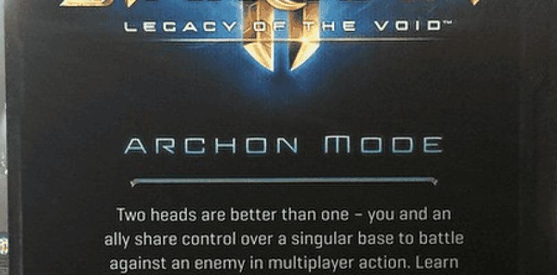 Nuevo modo de juego de StarCaft 2 en Legacy of the Void