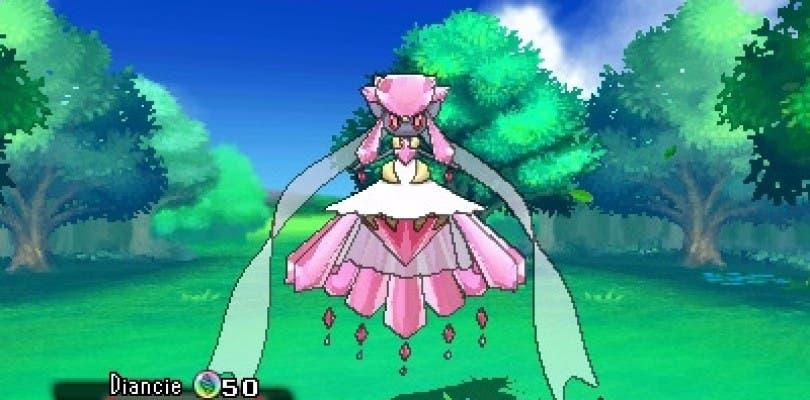 Como conseguir a Mega Diance en Pokémon Rubí Omega y Zafiro Alfa