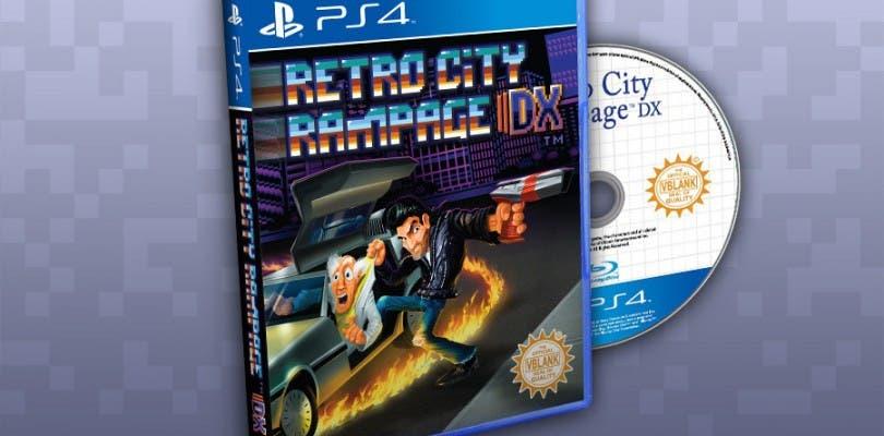 Habrá edición física de Retro City Rampage DX en PlayStation 4