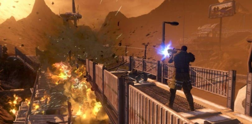 Red Faction: Guerrilla comienza la beta pública de Steamworks