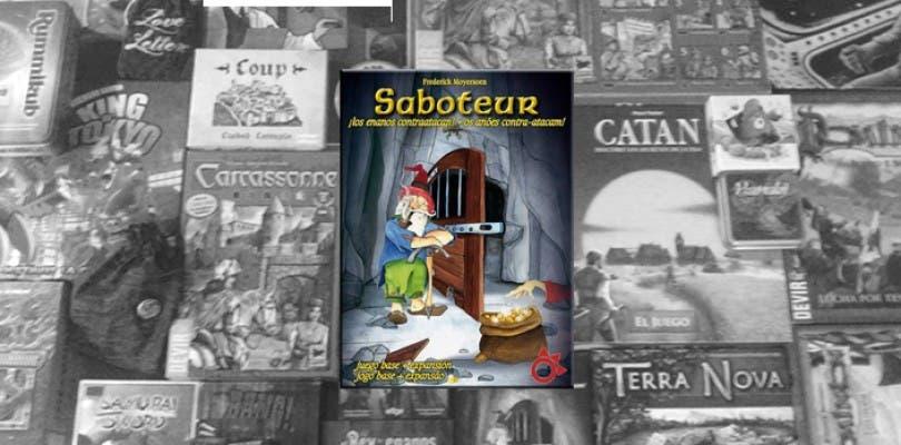 Juego en mesa: Reseña #6 Saboteur + Sorteo