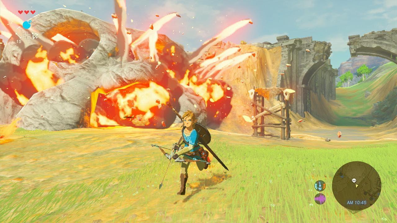 Imagen de Descubren un bug en Zelda Breath of the Wild que permite conseguir semillas Kolog de manera infinita