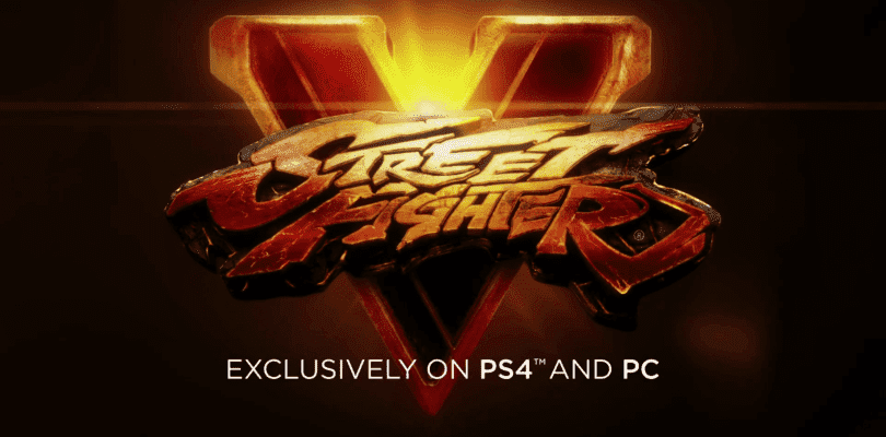 Se hace oficial Street Fighter V junto con el primer teaser e imágenes