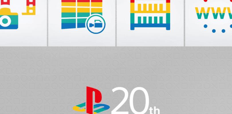 Ya disponibles los temas de PlayStation 4, PlayStation 3 y PlayStation Vita del 20 aniversario