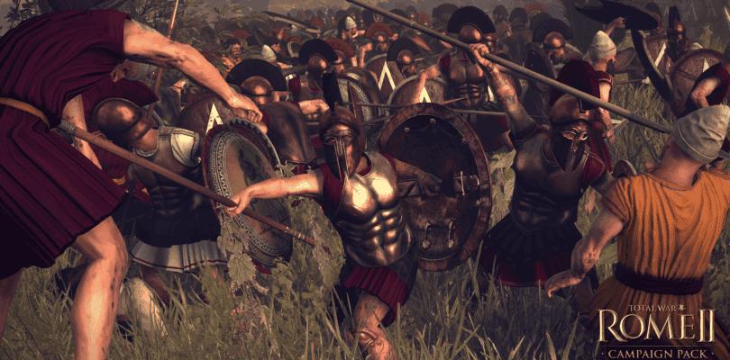 Total War: ROME II – La ira de Esparta llegará a STEAM