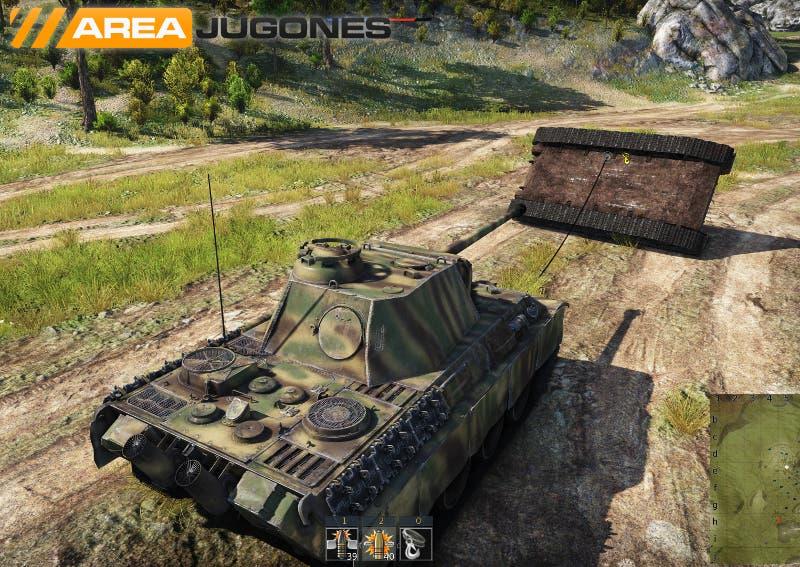 War Thunder Remolcar tanques -Areajugones