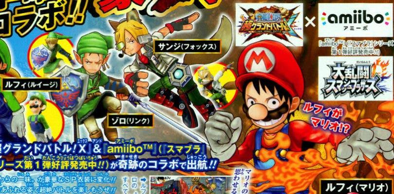 Un tráiler de One Piece: Super Grand Battle! X muestra el soporte de amiibo