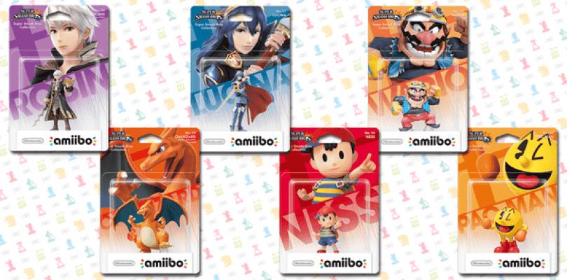 Nintendo anuncia nuevas figuras Amiibo