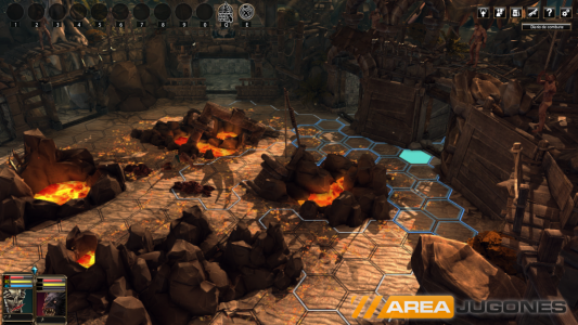 Blackguards 2 tiene varios fallos, como el mostrado en la imagen, donde podemos ver que no hay ningún personaje en escena.
