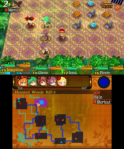 Etrian Mystery Dungeon Nintendo 3DS Análisis Review 5