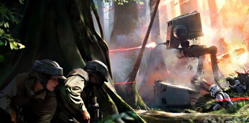 Primera imagen conceptual de Star Wars Battlefront