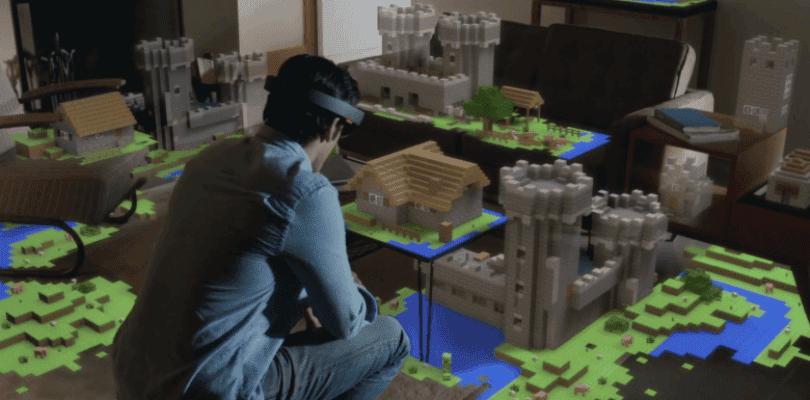Actualmente hay dos proyectos de Minecraft para HoloLens