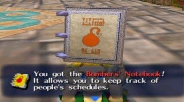 Imagen de El Cuaderno de los Bomber tendrá mucha más importancia en The Legend of Zelda: Majora's Mask 3D