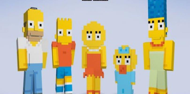 Los Simpson llegan oficialmente a Minecraft