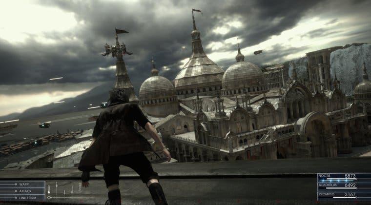 Imagen de Nuevo vídeo de Final Fantasy XV en PlayStation 4