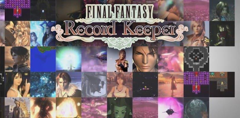 Ya disponible gratuitamente Final Fantasy Record Keeper