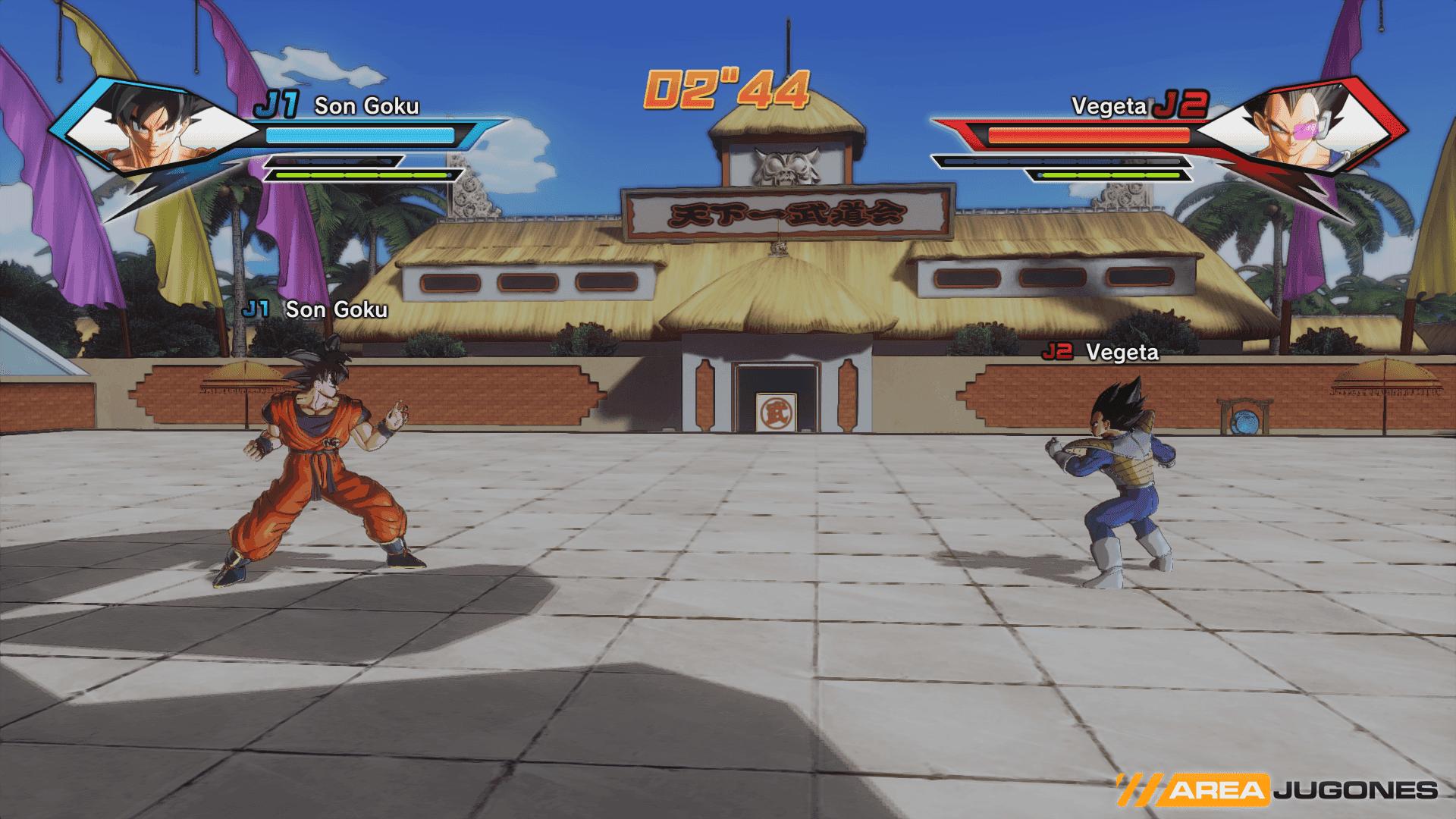 Combate Dragon Ball Xenoverse