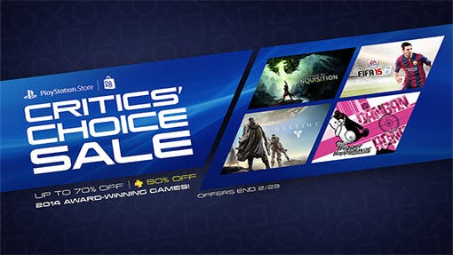 Critics Choice Sale