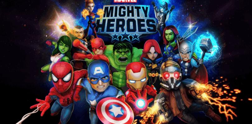 Anunciado Marvel Mighty Heroes para iOS y Android