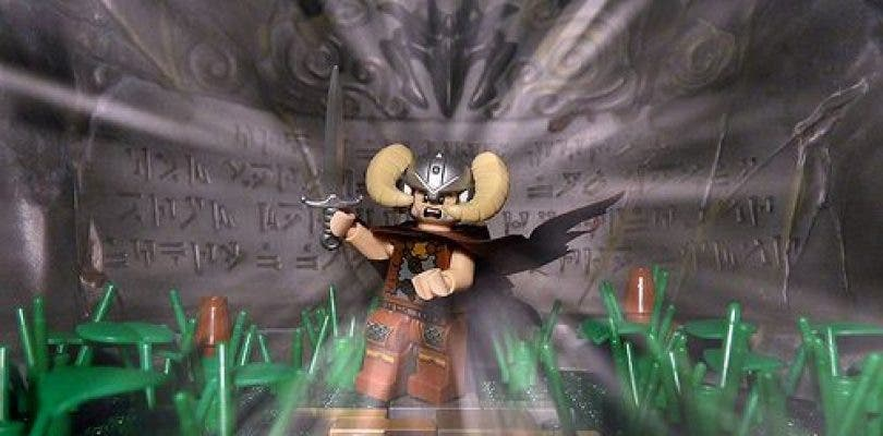 Unos fans recrean los primeros minutos de Skyrim con figuras LEGO