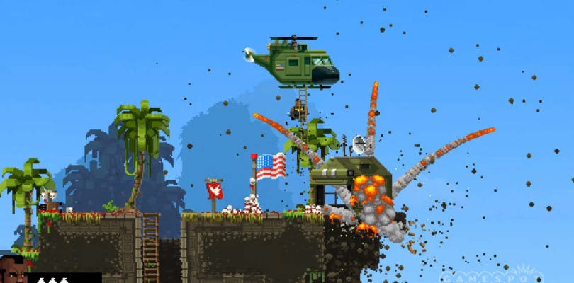 Llegan los aliens a Broforce