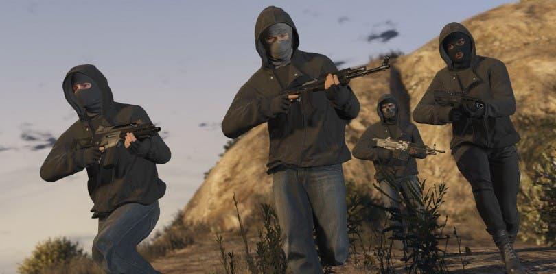Los atracos llegan a GTA Online el 10 de marzo