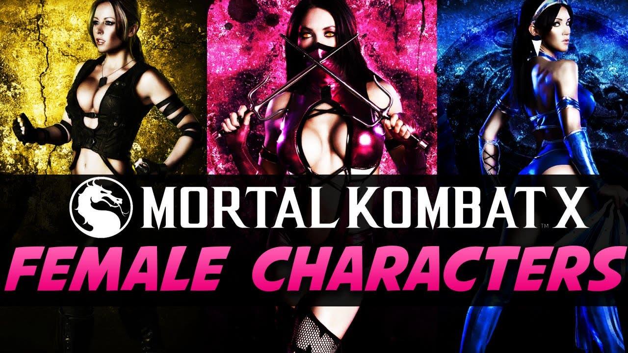 Mortal Kombat Original Female Characters