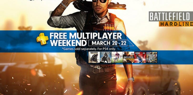 Servicio multijugador de PlayStation 4 gratuito este fin de semana