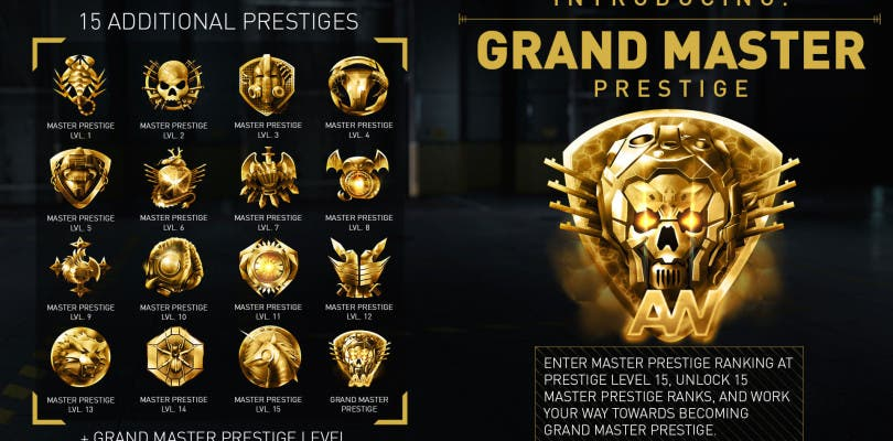 Anunciado el gran prestigio master de Call of Duty Advanced Warfare