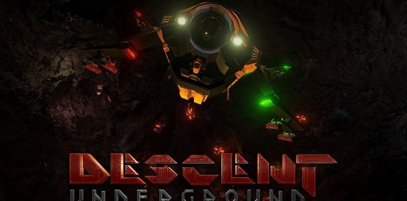 Descent: Underground se está financiando a través de crowfunding