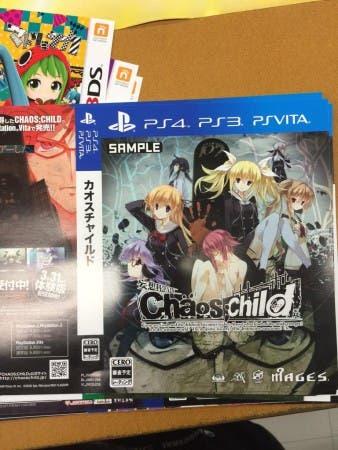 Chaos Child PS4-PS3-PSVita Filtración AJ