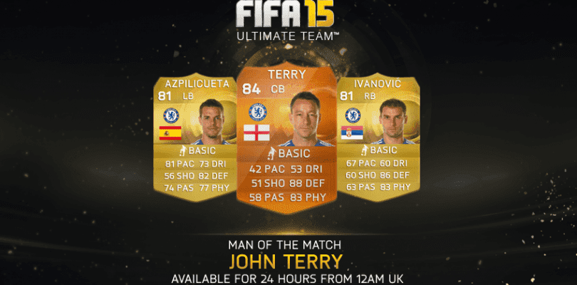 John Terry, nuevo MOTM para FIFA 15 Ultimate Team