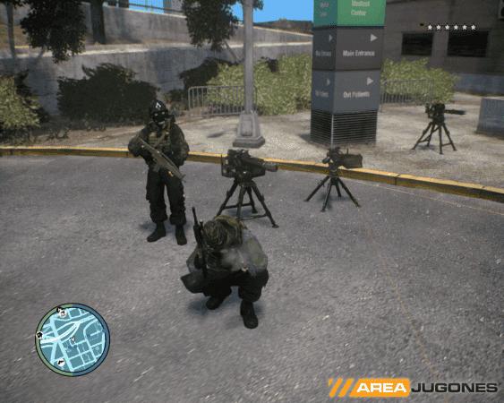 GTA IV Sentry Gun Mod 2 Areajugones