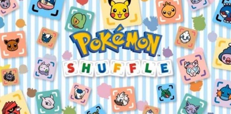 Nintendo lanza el primer código para Pokémon Shuffle