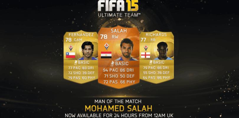 Mohamed Salah, nuevo MOTM de FIFA 15 Ultimate Team
