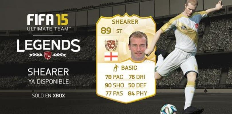 Alan Shearer, nueva Leyenda para FIFA 15 Ultimate Team