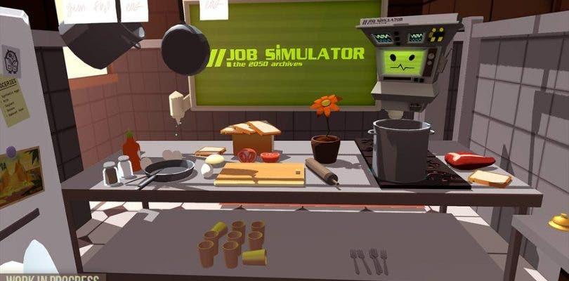 Job Simulator es el primer juego de realidad virtual anunciado para SteamVR