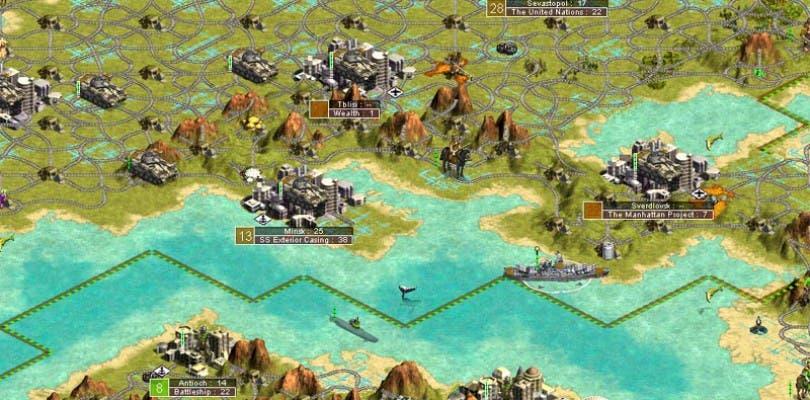 Nueva actualización del multijugador de Civilization III