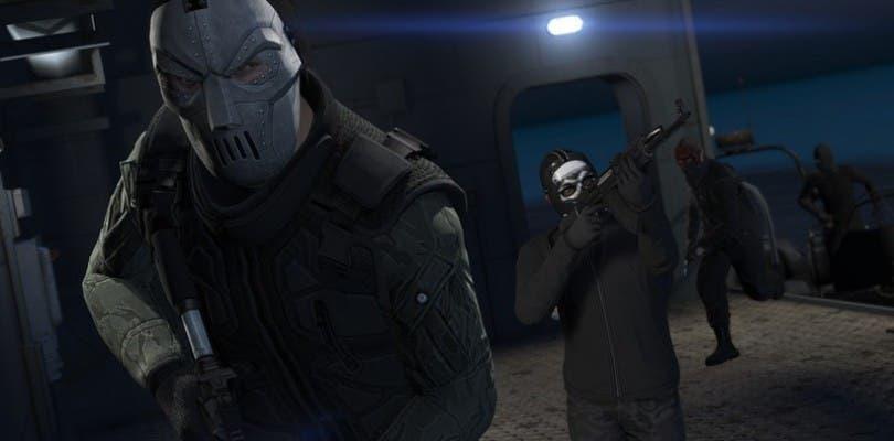 Notas del parche que introduce los atracos en GTA Online