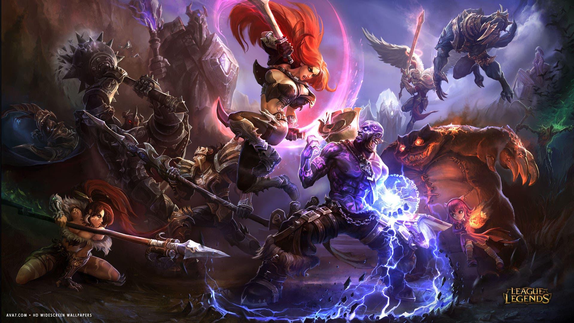 league-of-legends-game-lol-katarina-versus-ryze-magic-battle