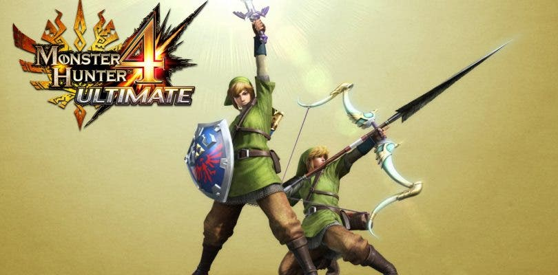 Actualización de Zelda para Monster Hunter 4 Ultimate