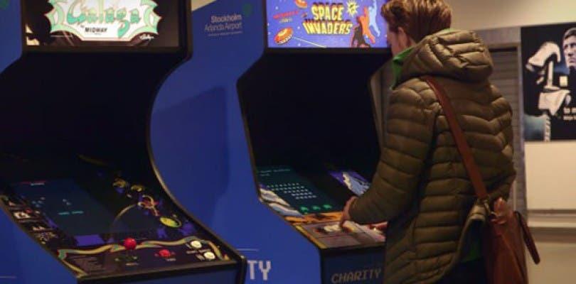 Aterrizan en varios aeropuertos de Suecia máquinas recreativas solidarias