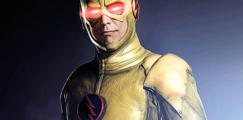 Flash Reverso se deja ver en un póster promocional de The Flash