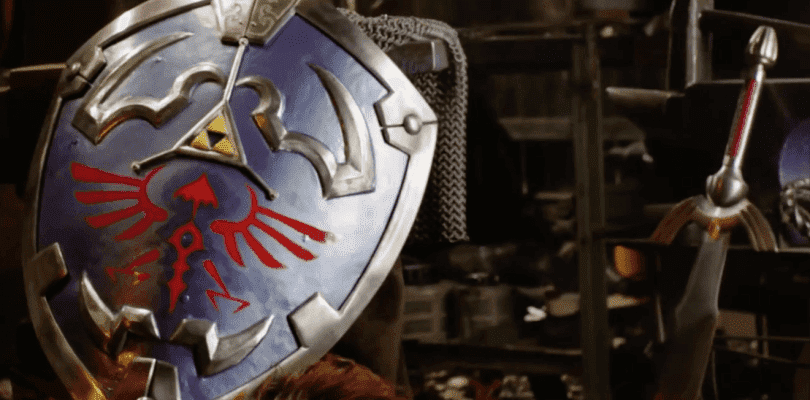 Man at Arms recrea el escudo Hylian de la saga The Legend of Zelda