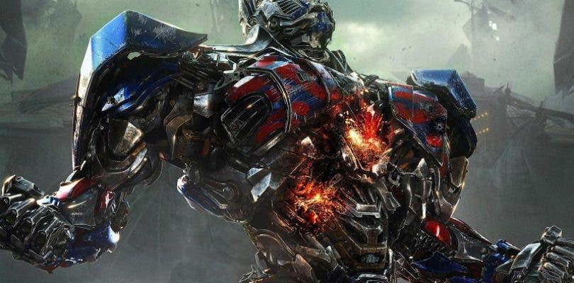 Primer póster de Transformers: El Último Caballero