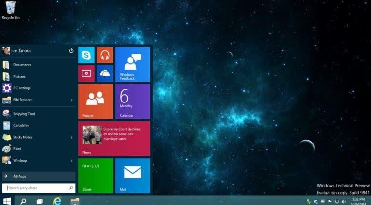 Imagen de Windows 10 llegará el 29 de julio